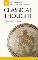 Classical thought - Terence Irwin (ISBN 9780192891778)
