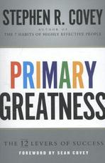 Primary Greatness - Stephen R. Covey (ISBN 9781471155840)