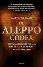 De aleppo codex - Matti Friedman (ISBN 9789401401609)