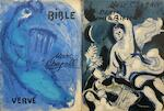 Verve: Marc Chagall - Bible / Dessins pour le Bible. - Marc Chagall, Jean Wahl, Meyer Shapiro, Gaston Bachelard