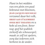 Brief aan d'Alembert over het theater - Jean-Jacques Rousseau