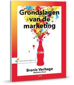 Grondslagen van de marketing - Bronis Verhage, Marjolein Visser (ISBN 9789001853174)