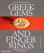 Greek Gems and Finger Rings - John Boardman (ISBN 9780500237779)