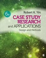 Case Study Research and Applications - Robert K. Yin (ISBN 9781506336169)