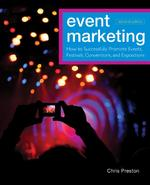 Event Marketing - C. A. Preston (ISBN 9780470891070)