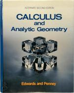 Calculus and Analytic Geometry - Charles Henry Edwards, David E. Penney (ISBN 9780131114692)