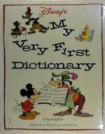 Disney's My Very First Dictionary - Vincent Jefferds (ISBN 9780810981805)