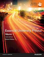 Essential University Physics: Volume 1, Global Edition - Richard Wolfson (ISBN 9781292102658)