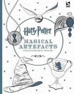 Harry Potter Magical Artefacts Colouring Book - Warner Bros. (ISBN 9781783705924)