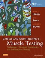 Daniels and Worthingham's Muscle Testing - Helen Hislop (ISBN 9781455706150)