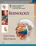 Master Techniques in Otolaryngology - Head and Neck Surgery: Rhinology - David Kennedy (ISBN 9781451175578)