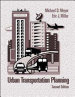 Urban Transport Plan - Meyer, Eric J. Miller (ISBN 9780071200004)