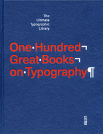 One hundred great books on typography - Agata Toromanoff (ISBN 9789460581854)