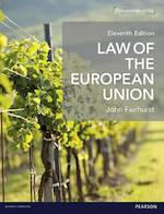 Law of the European Union - John Fairhurst (ISBN 9781292090337)
