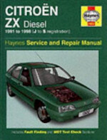 Citroen ZX Diesel Service and Repair Manual