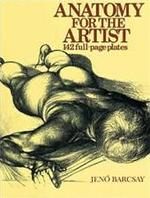 Anatomy for the artist - Jenő Barcsay, Pál Antal (ISBN 9780748102648)