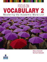 Focus on Vocabulary Level 2. Students' Book - Diane Schmitt (ISBN 9780131376175)