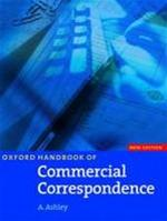 Oxford handbook of commercial correspondence - A. Ashley (ISBN 9780194572132)