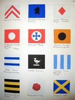 Yachts Racing Flags 1860-1902