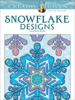 Snowflake designs coloring book - a. g. smith (ISBN 9780486791852)