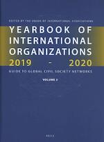 Yearbook of International Organizations 2019-2020, Volume 2 (ISBN 9789004392991)