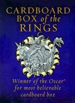 Cardboard Box of the Rings [3 volumes]