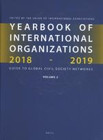 Yearbook of International Organizations 2018-2019, Volume 2 (ISBN 9789004365636)