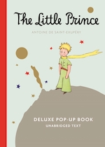 Little prince deluxe pop-up book with audio cd - antoine de saint-exupery (ISBN 9780544656499)