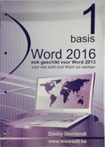 Word 2016 - Deel 1 - Basis - Danny Devriendt (ISBN 9789076862187)