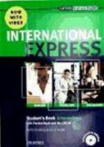 International Express Intermediate. Student's Book with Pocket Book,DVD-ROM - Liz Taylor (ISBN 9780194597371)