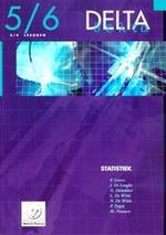 Delta / 5/6 Statistiek 3/4u + cd-rom - Gevers (ISBN 9789030182894)