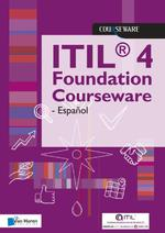 ITIL® 4 Foundation Courseware - Español - Van Haren Learning Solutions a.o. (ISBN 9789401804639)