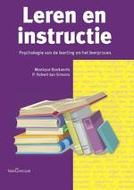 Leren en instructie - Monique Boekaerts, P. Robert-Jan Simons (ISBN 9789023252870)