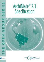 ArchiMate 2.1 specification - The open Group (ISBN 9789401805087)