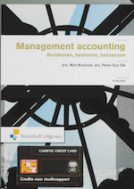Management accounting - Wim Koetzier, Peter Epe (ISBN 9789001713164)