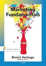 Marketing fundamentals, an international perspective - Bronis Verhage, Marjolein Visser (ISBN 9789001853228)