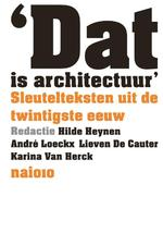 Dat is architectuur (ISBN 9789462081840)