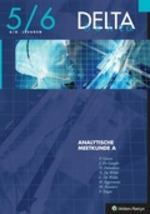 Delta 5/6 Analytische meetkunde A 6/8 lesuren - P. Gevers, J. de Launghea, E.a. (ISBN 9789030185048)