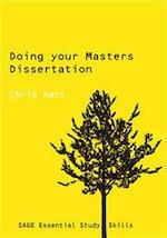 Doing Your Masters Dissertation - Chris Hart (ISBN 9780761942177)