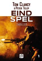 Eindspel - grote letter uitgave - Tom Clancy, Peter Telep (ISBN 9789036432894)