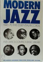 Modern Jazz - Max Harrison, Alan Morgan, Ronald Atkins, Michael James, Jack Cooke (ISBN 9780904619010)