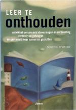 Leer te onthouden - Dominic O'brien, Donna Dailey, Nienke van Bemmel, Erika Venis (ISBN 9789057645266)