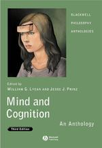 Mind and Cognition: An Anthology - (ISBN 9781405157858)
