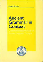 Ancient grammar in context - I. Sluiter (ISBN 9789062569120)