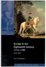 Europe in the Eighteenth Century - M. S. Anderson (ISBN 9780582357433)
