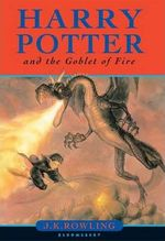 Harry Potter and the Goblet of Fire - J K Rowling (ISBN 9780747546245)
