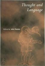 Thought and Language - John Preston (ISBN 9780521587419)