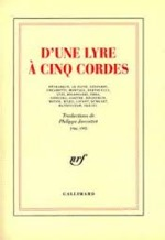 D'une lyre à cinq cordes - Unknown (ISBN 9782070747184)