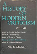 History of Modern Criticism 1750-1950