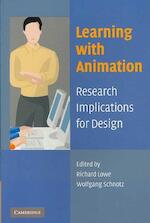 Learning with Animation - (ISBN 9780521617390)